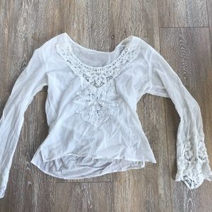 Lace urban outfitter tunic.